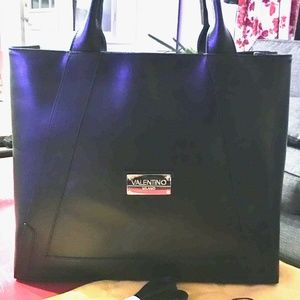 Valentino New with tags black tote